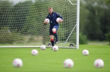 Team GB Football Open Training
